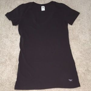 Black T-shirt Victoria's Secret